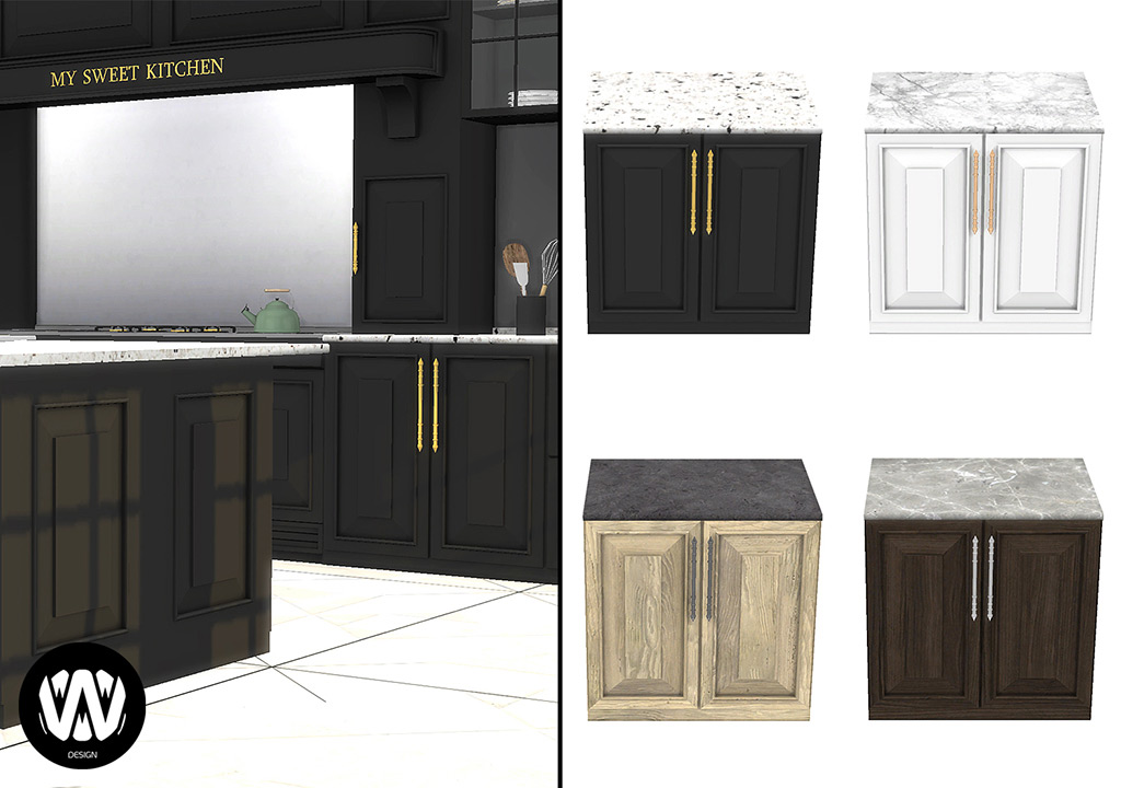 Sims 4 Kitchen Counter