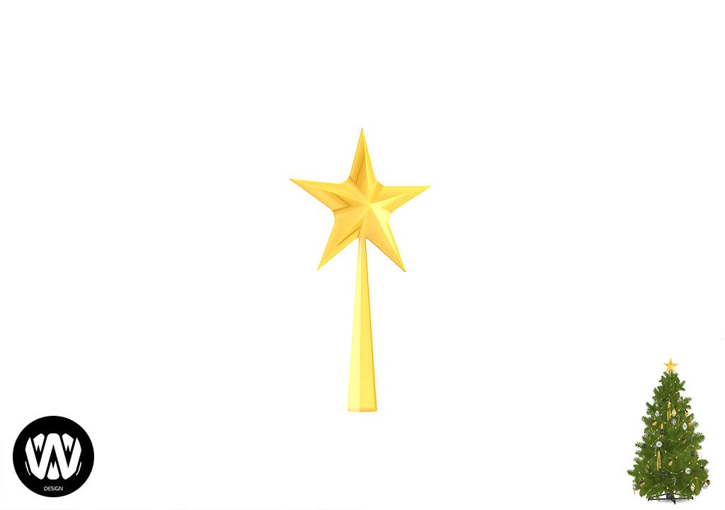 Christmas Treetop Star