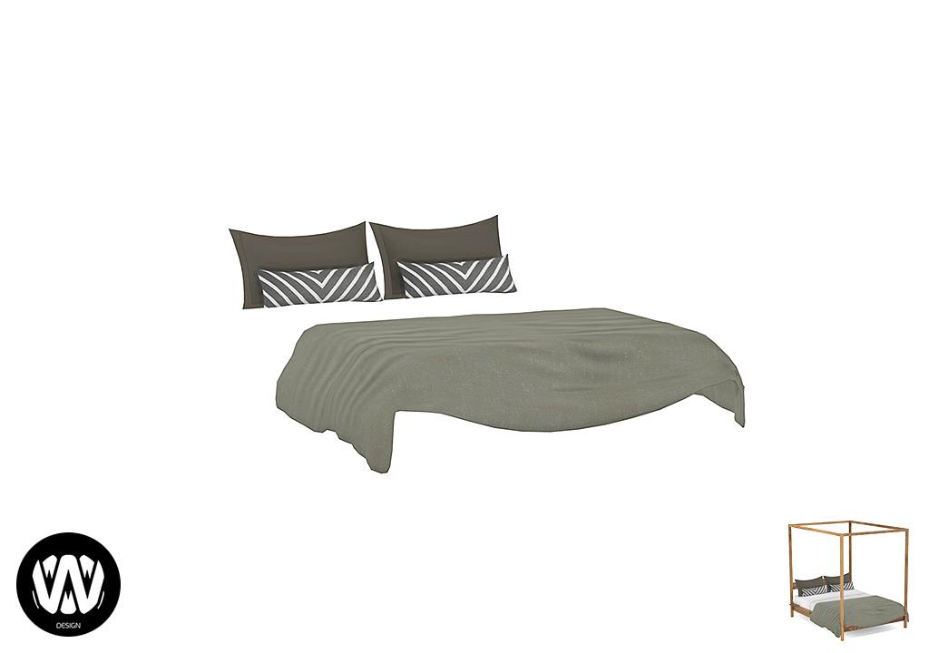 Crocus Bed Blanket
