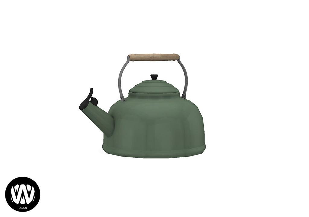 Rubus Teapot
