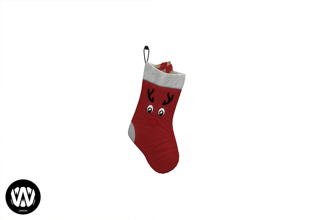 Salvia Christmas Sock