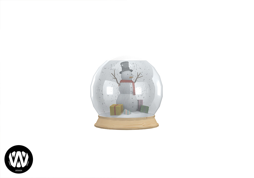 Salvia Snow Globe