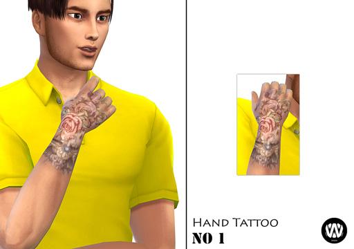 Hand Tattoo No 1