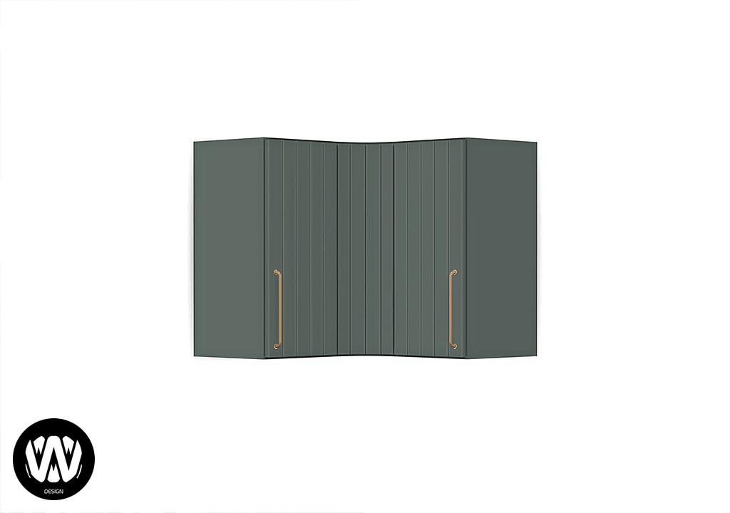 Ceratonia Cabinet Corner