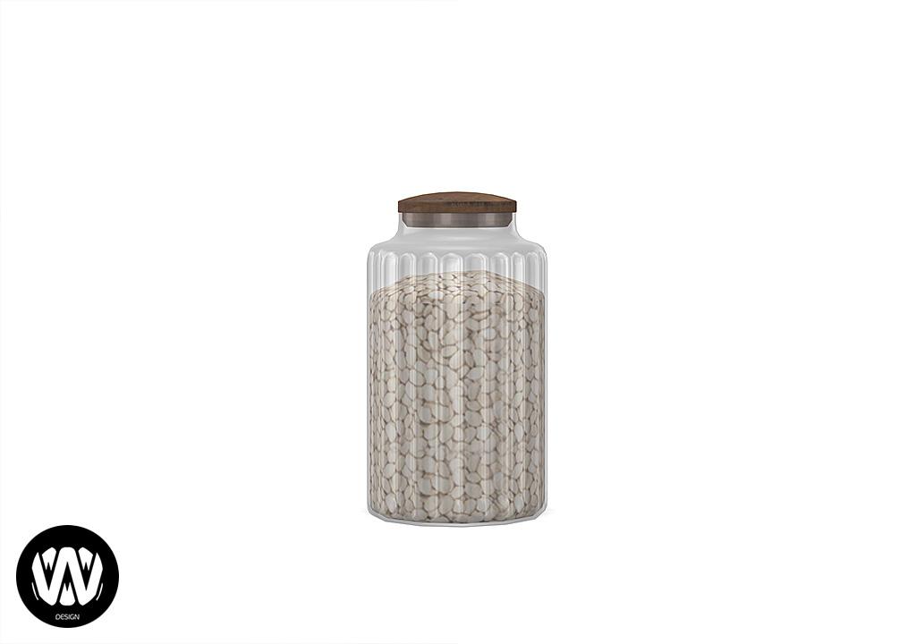 Ceratonia Kitchen Jar Big