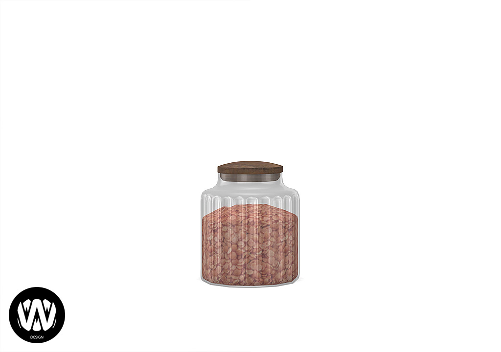 Ceratonia Kitchen Jar