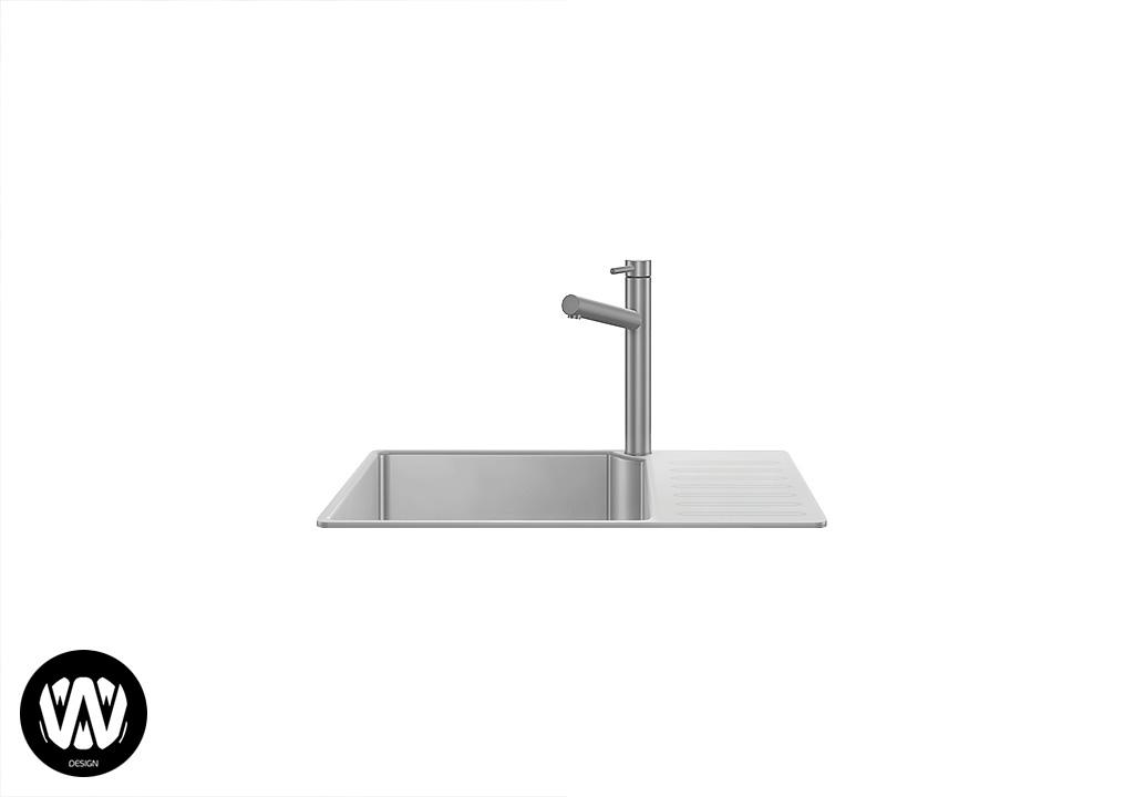Ceratonia Kitchen Sink