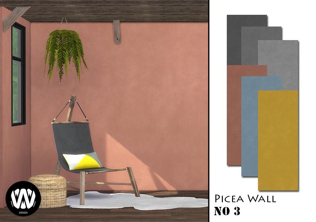 Picea Wall No.3