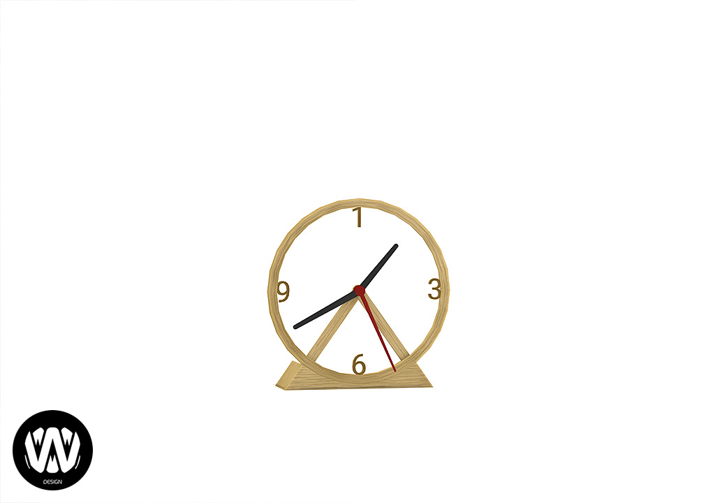 Clematis Clock