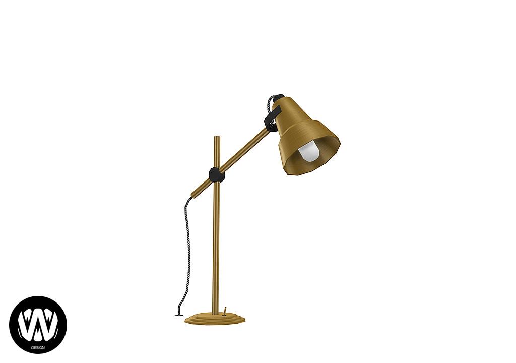 Clematis Desk Lamp