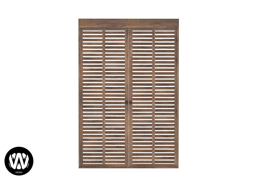 Tsuga Door [2 Tiles]