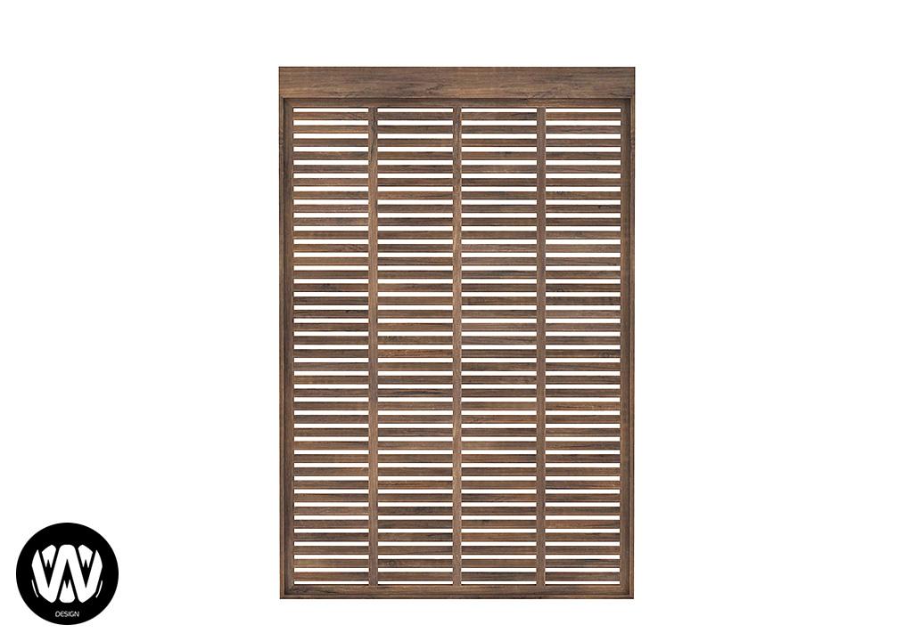 Tsuga Window – Closed [2 Tiles]
